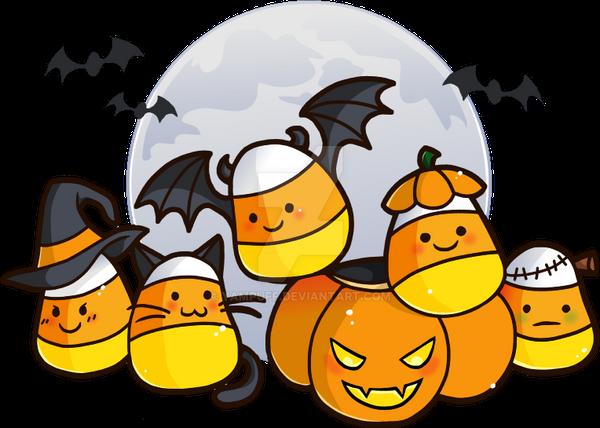 Candy Corn Critters by YamPuff