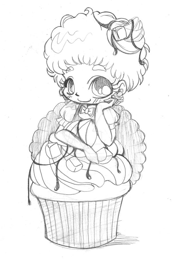 Yam Puff Chibi Kleurplaat Peanut Butter Fudge Chibi By Yampuff On Deviantart
