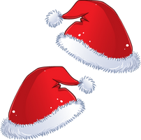 Santa Hats for Chibis! ::FREE DOWNLOAD::