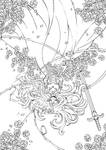 Gothic Bride Lineart ::THANK U 4 200K FAVES::