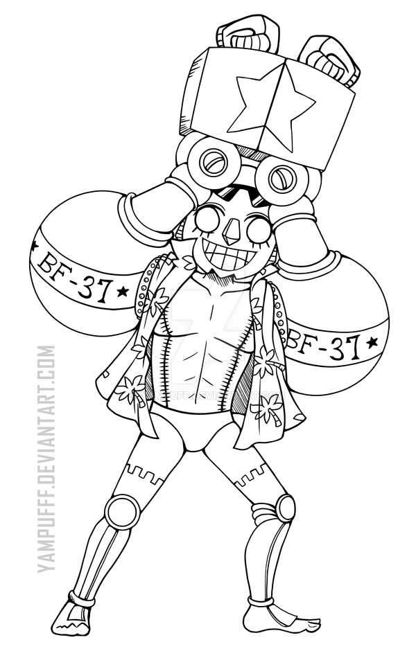 Frankie One Piece Lineart By Yampuff On Deviantart