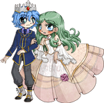 Prince Ice and Princess Ivy ::Comm::