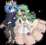 Prince Ice and Princess Ivy ::Comm::