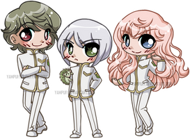 Caerula Adamas ::The Student Council::