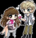 Ren Shibasaki ::Mini Chibi Commission: