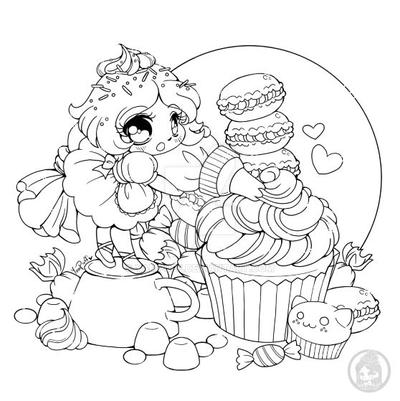 The Frosting Fairy :: July Coloring Contest :: by YamPuff on DeviantArt