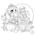 The Frosting Fairy :: July Coloring Contest ::