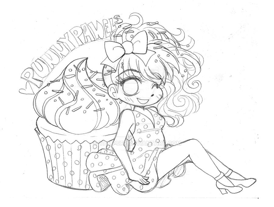 Punny Pannels Cupcake Commission By Yampuff On Deviantart