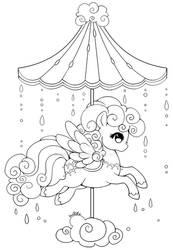 Celestial Carousel - Cloud Pegasus