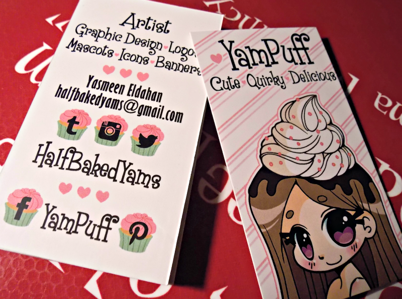 Yampuff business cards by yampuff on deviantart yampuff business cards by yampuff colourmoves