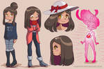 Malika Character Sketches