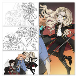 Castlevania Step by Step by YamPuff