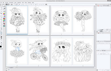 Flowery Dreams WIP by YamPuff