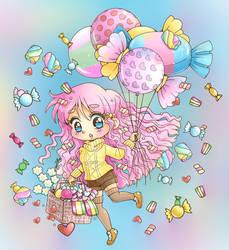Candy Balloon Chibi