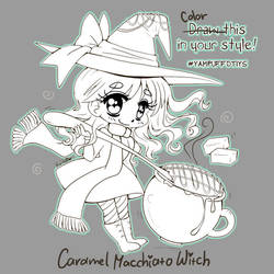 Caramel Machiatto Witch BW