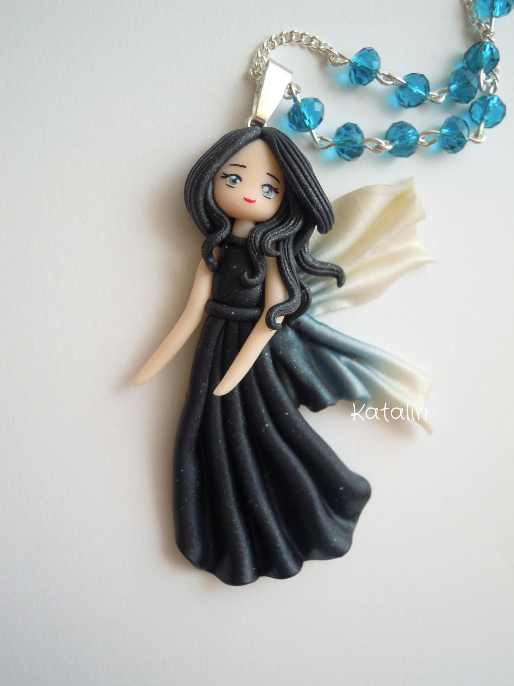 Ooak Polymer Clay Fairies