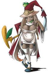 Nu Mou Alchemist by bittenhard