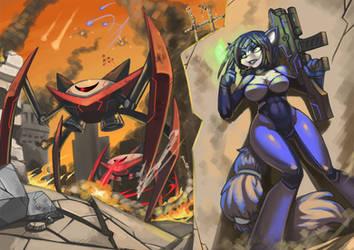 Krystal Warfare by bittenhard