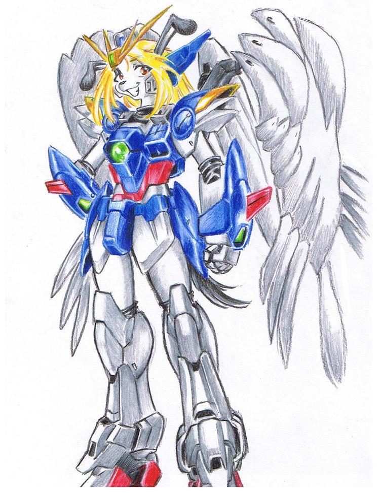 Wing Gundam Zero Custom by bittenhard