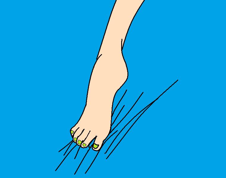 Jessica Blood : My foot ! by KawaiiPanda3Drawing