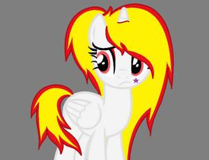 My new oc pony Alice The Killer !