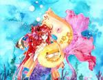 +Rainbow sea+