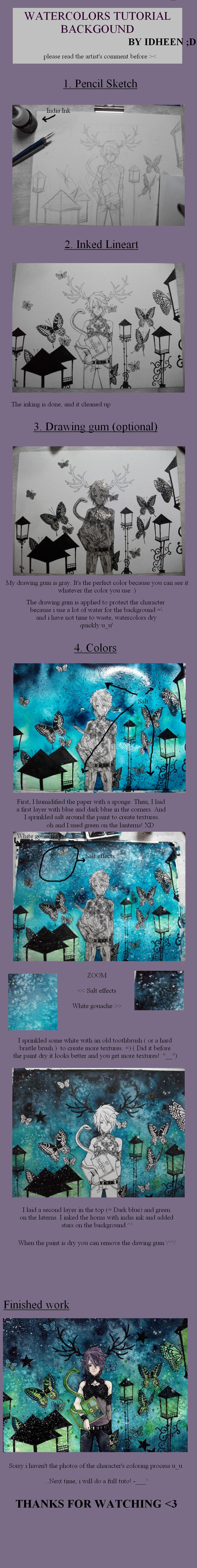 Tutorial: watercolors BG