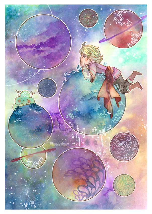 Planets by idheen