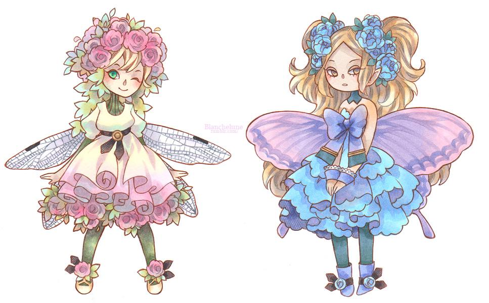Flower Fairies by idheen