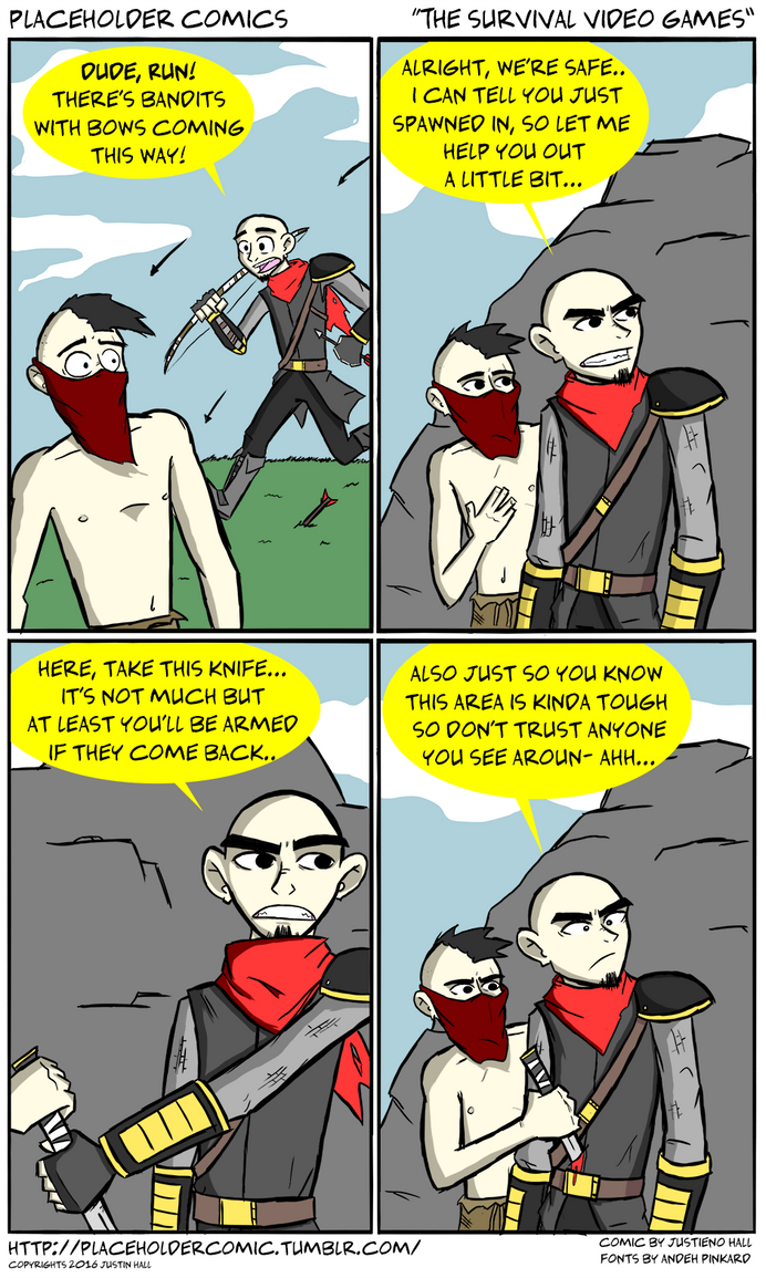 The Survival Video Games by justieno