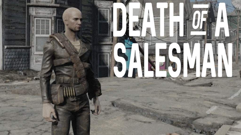 Fallout 4 - The Death of a Salesman by justieno