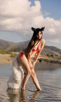 Pool Party Ahri - Classic Ver. by AngieV Cosplay