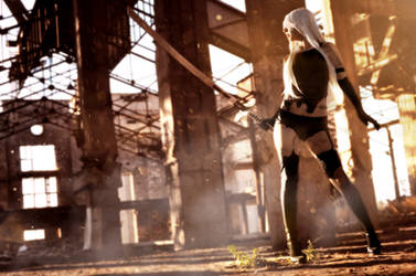 A2 from Nier:Automata By AngieV Cosplay by AngieV-Cosplay