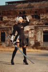 2B cosplay by AngieV Cosplay