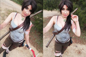 Lara Croft cosplay by AngieV Cosplay
