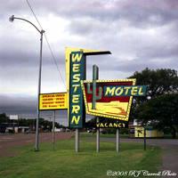 Western Motel by rjcarroll