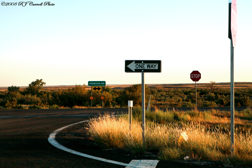 Route 66 Sunset by rjcarroll