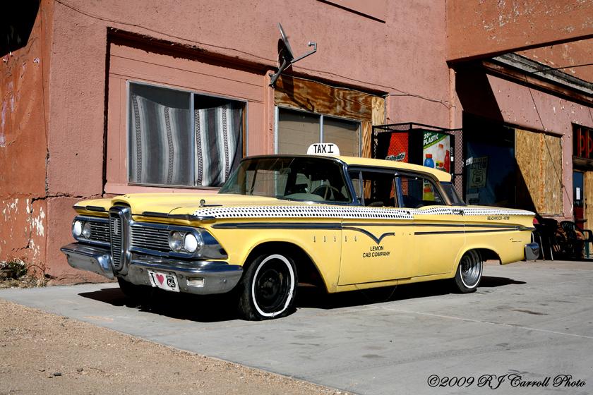 Lemon Cab Company by rjcarroll