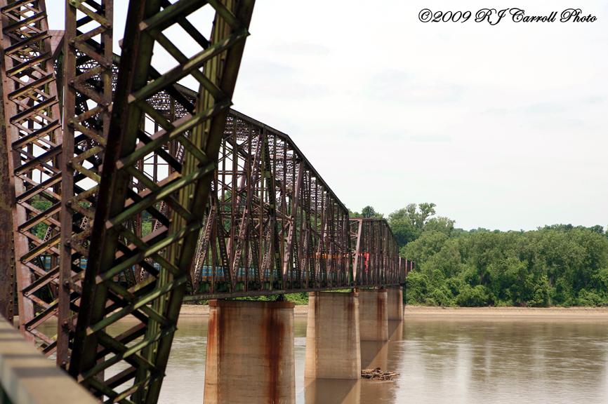 Chain Of Rocks Bridge V by rjcarroll