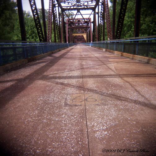 Chain Of Rocks Bridge VI by rjcarroll
