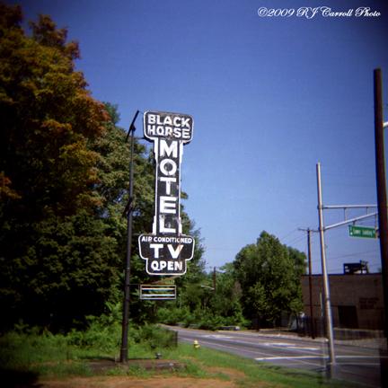 Black Horse Motel by rjcarroll