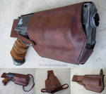 Nerf Maverick Custom Leather Holster