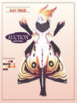 Fire Moth Adoptable Auction | CLOSED by MadRyuu
