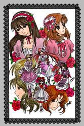 Art Collab with Fujiwara by anirhapsodist