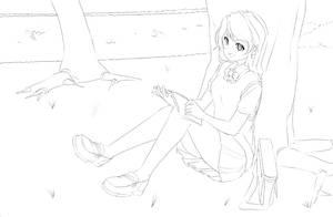 Sketchdump 01262014: Reads by anirhapsodist