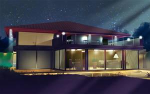 House night by anirhapsodist