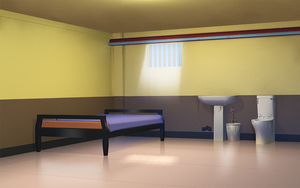 Prison cell by anirhapsodist