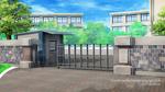 Snow Kissed Romance: School gate