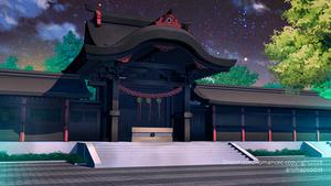 Snow Kissed Romance: Temple Shrine by anirhapsodist