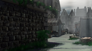 Lola's Adventure - Medieval Street 1280x720 by anirhapsodist